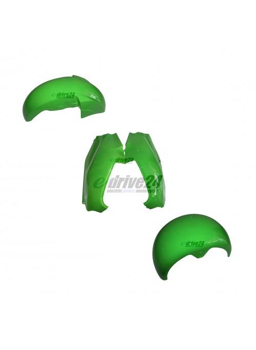 Schutzblech V.H.+ Fahrgestellabd. Set - grün City Max R1
